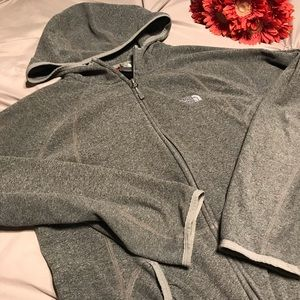 The North face women's full zip sweater